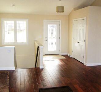 Entry way with hardwood floor - the Jefferson floor plan - 1835 sq ft