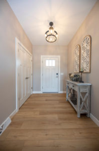 Front entrance with large closet - 2019 Parade of Homes