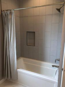 Main bathroom tiled tub - 2019 Parade of Homes