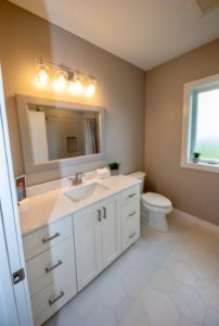 Main bathroom with marble top - 2019 Parade of Homes
